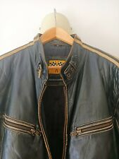 Leather jacket biker / cazadora de cuero motorista