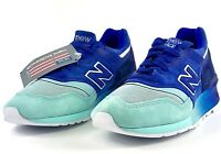 New Balance 997 Made in USA Home Plate Pack Blue Turquoise M997NSB Sz