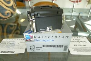 Hasselblad A12 Film Back Chrome 30212 Matching insert Latest SI 501 503 SWC