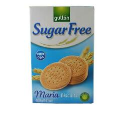 Gullon Sugar Free Maria Biscuits 400g (2 x 200g)