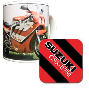Suzuki GSX-R750 Mug & Coaster