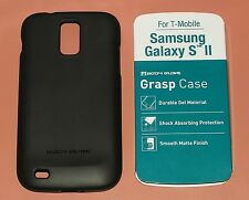Body Glove Grasp Case for Samsung Galaxy II, T-Mobile only, Solid Blac