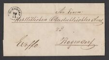 MOTON114     Old Cover with letter Germany 1803
