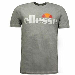 Ellesse Original Mens Short Sleeved T-Shirt Casual Grey 09020342 00T A82D
