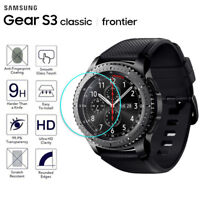 2 x For Samsung Gear S3 Frontier Classic Tempered Glass Screen Protector Watch