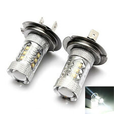 H7 80W CREE LED Super Bright Fog Tail Driving Head Car Light Lamp Bulb Bombilla