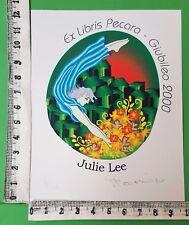 "EX LIBRIS 53  "" CONCORSO GIUBILEO 2000 "" - * TESSA MORRISON *- AUSTRALIA"