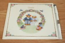 Genuine Vintage Hallmark Wedding Bears Guest Signing Book - Collectible *READ*