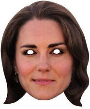 Catherine Kate Duchess of Cambridge Royal Majesty Single Card Party Face Mask