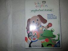 Baby Einstein: Neighborhood Animals (DVD, 2002) Mfg. Sealed