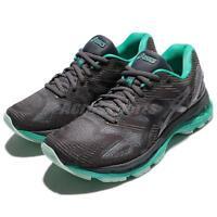 Asics Gel-Nimbus 19 Lite-Show Dark Grey Green Women Running Shoes T7C8N-9590