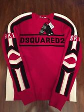 DSQUARED2 SKI Logo Printed Sweater S74HA0713 Size XL