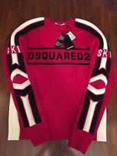 DSQUARED2 SKI Logo Printed Sweater S74HA0713 Size XL