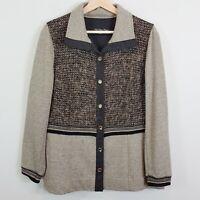 [ BLEU BLANC ROUGE France ] Womens Jacket  | Size AU 12 or US 8