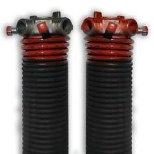 Dura-lift Torsion Springs Wound Pair For Sectional Garage Doors Red  2 X 29 Inch
