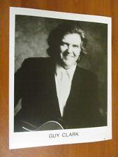 Vtg Glossy Press Photo Country Folk Singer Guy Clark L.A. Freeway Randall Knife