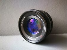 Carl Zeiss Planar T* 50mm F/1.7 MF Lens For Contax / Yashica