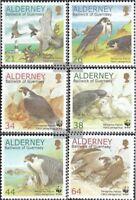 GB-Alderney 145A-150A (kompl.Ausg.) postfrisch 2000 Naturschutz