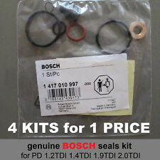 Bosch pd injector seals kit Ford Galaxy 1.9TDI ANY ASZ AUX BTB 115 130 150hp 4pc
