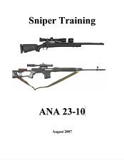 233 Page Afghan Sniper Observer SVD 7.62-mm Dragunov Rifle Training Manual on CD