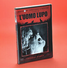 L'UOMO LUPO DVD GEORGE WAGGNER EDIZIONE 2 DISCHI The Wolf Man