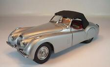 Franklin Mint 1/24 Jaguar XK 120 (1952) metallicgrau #2314
