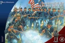 American Civil War Unión infantería 1861-65 - 28mm Figuras Perry ACW115 Publica Gratis