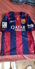 FC Barcelona Neymar Jr Soccer Jersey Nike Size Small