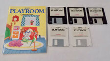 The Playroom Learning Games Macintosh Floppy Discs Vintage Computer