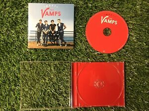 MEET THE VAMPS CD ALBUM HAND SIGNED BY BRAD SIMPSON MUSIC CHARTS COMES WITH COA