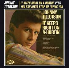 Johnny Tillotson - It Keeps Right On A-Hurtin'/You Can Never Stop Me Loving You
