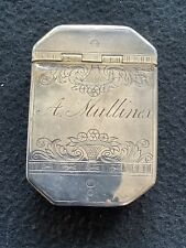 More details for hm silver pill/ snuff box, london 1735