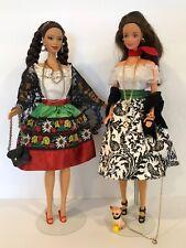 Barbie Vintage Doll Case 1961 Lot Dress Shoes Purse Dolls Rare Set