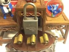 3 American Padlock Cylinders Amp 1 Lock Body New 6 Pin Cyl Amp Key For The Sport