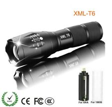 Rechargeable Military Grade LED Torch, 10000 Powerful Lumen Zoomable Flashlight