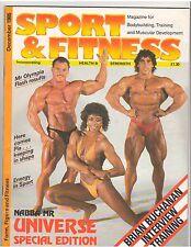 Sport & Fitness British Bodybuilding Muscle Mag/Kawak/Belknap/Jocelyne 12-85 GB
