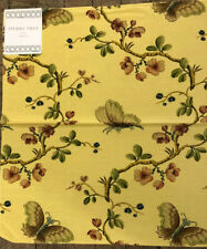 Pierre Frey 16 X 19 France Cotton Viscose File Designer Fabric Samplle