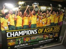 Australian Socceroos - Champions of Asia - 2015 - Limited Edition Poster