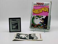 Centipede | Atari 7800 PAL | Complete with Manual