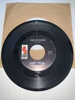 Lenny Welch: Rags To Riches / I Want You To Worry (About Me) / 45 Rpm 1966 VG+