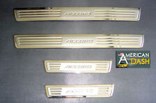 STAINLESS STEEL CHROME DOOR SILLS SCUFF PLATES FOR HONDA ACCORD 03 04 05 06 2007