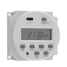 12V LCD Digital Microcomputer Control Power Timer Switch Time Relay Panel Mount