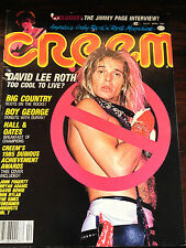 Creem Magazine Apr 1985 David Lee Roth Jimmy Page Mr. T