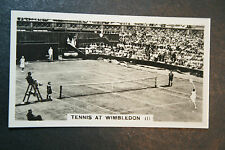 Wimbledon Tennis Ladies Centre Court Action   Original Early 1930's Photo## Card