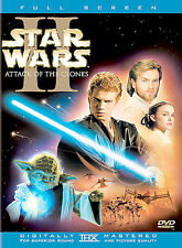 Star Wars Episode II: Attack of the Clones DVD 2-Disc Set FREE SHIPPING