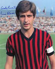 Gianni Rivera - AC Milan - Signed Autograph REPRINT