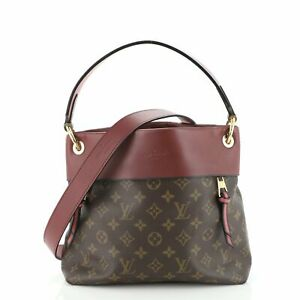 Louis Vuitton Tuileries Besace Bag Monogram Canvas with Leather