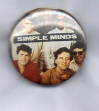 SIMPLE MINDS  BUTTON BADGE Scottish Rock Band - Someone Somewhere 25mm D Pin 80s
