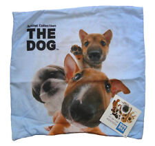 Hunde Kissenbezug Mädchen Kissen ohne Füllung Kinder Welpen 40x40 cm Bezug Hund