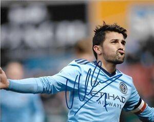 New York City FC David Villa Autographed Signed 8x10 MLS Photo COA G